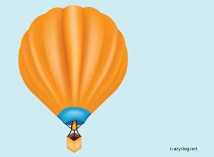 Free Hot Air Balloon Vector