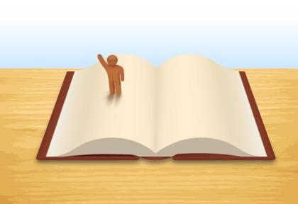 Open Book Free Vector Image
