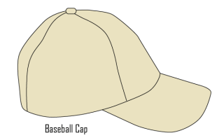 Baseball Cap Template Vector Free