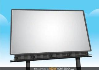 Free Billboard Vector