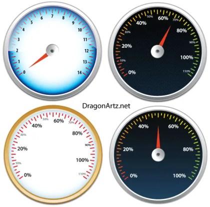 Tachometer Vector Free