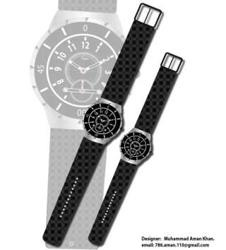 Free Wrist Watch Vector