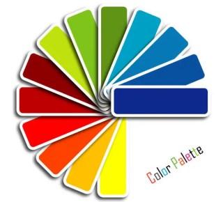 Color Palette Vector Graphics