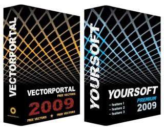Software Box Vector Free