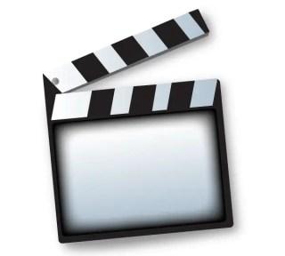 Movie Clapper Board Template Vector Free