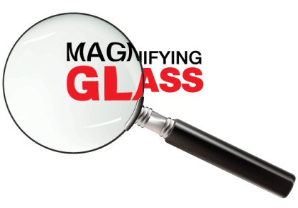 Free Magnifying Glass Vector