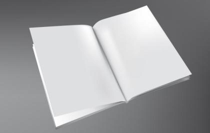 Free Vector 3D Brochure Template