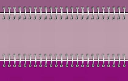 Purple Notebook Free Vector