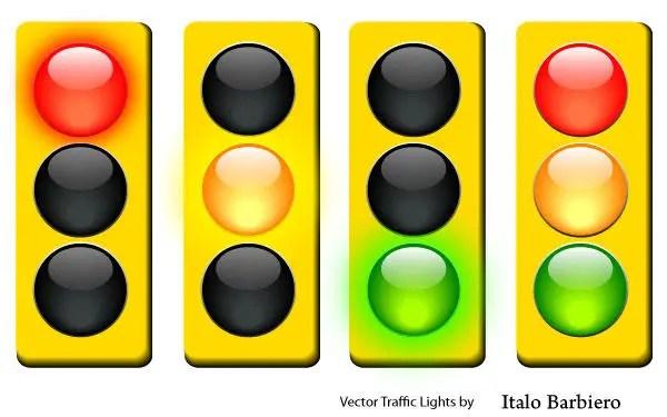 Traffic Light Vector Free