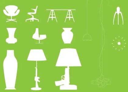 Modern Furniture Vector Free