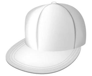 White Full Cap Free Vector