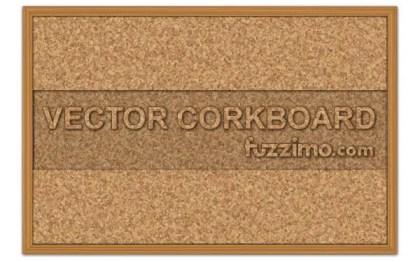 Free Cork Board Vector