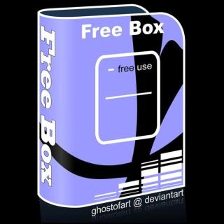 Free Product Box Vector Template
