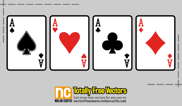 free playing cards vector 123freevectors rh 123freevectors com playing card vector images playing card vector images