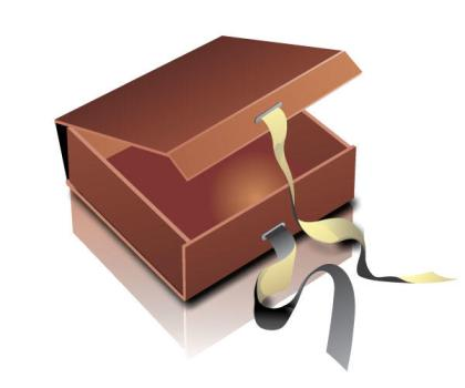 Free Gift Box Vector Graphic