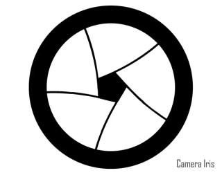 Free Camera Iris Vector Art