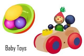 Baby Toys Vector