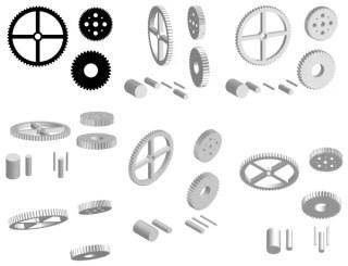 Free Cogwheel Vector Pack
