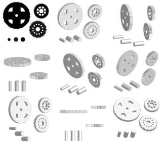 Cogwheels Vector Graphics Free