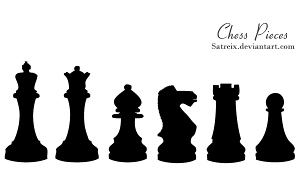 Free Vector Chess Pieces Images | 123Freevectors