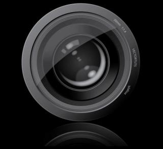 Camera Lens Vector Graphic Free Download
