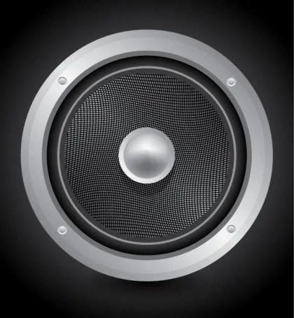 Free Speaker Vector Art