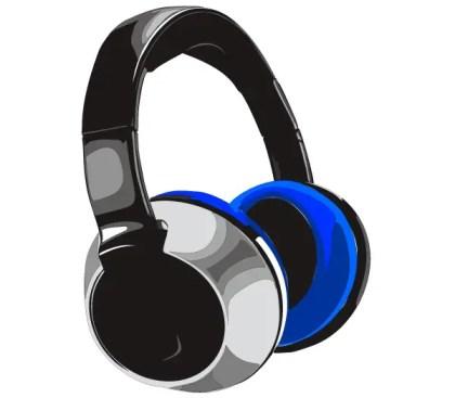 Free Headphones Vector Art