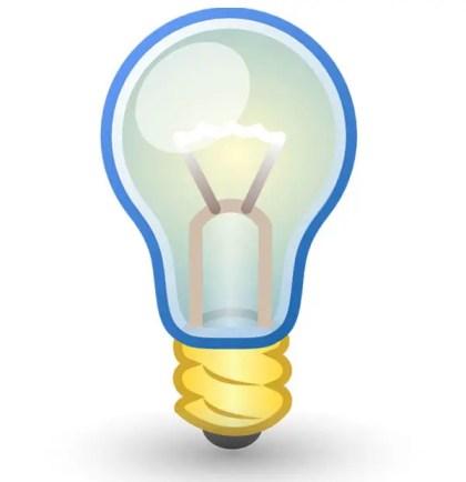 Vector Art Light Bulb