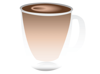 Transparent Coffee Cup Vector