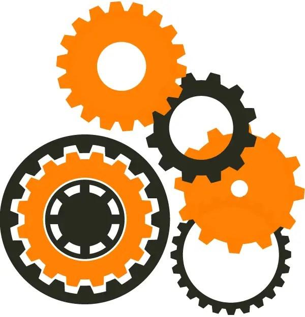 Machine Gear Wheel Vector Resources