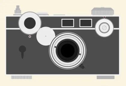 Vintage Argus C3 Camera Free Vector Resources