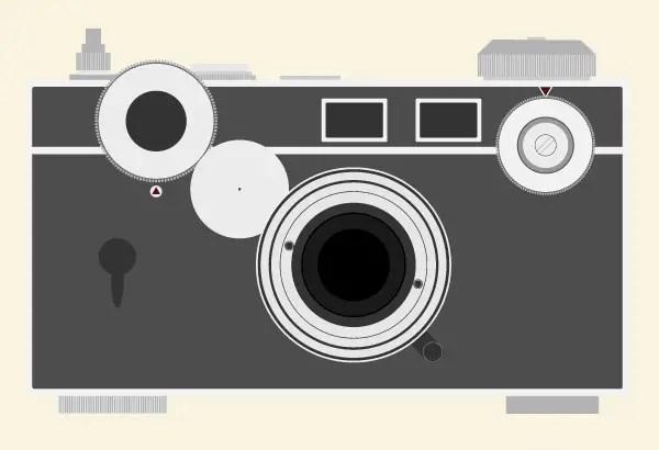 Camera Vintage Vector Free : Vintage argus c3 camera free vector resources 123freevectors