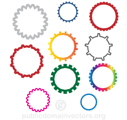 Gear Wheels Vector Free Download