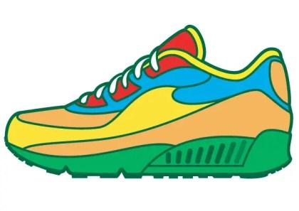 Sneaker Vector Art