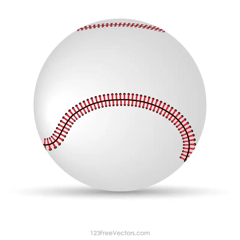 Baseball Vector Clipart