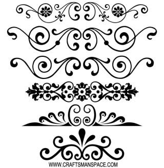 Free Decorative Ornaments Vector