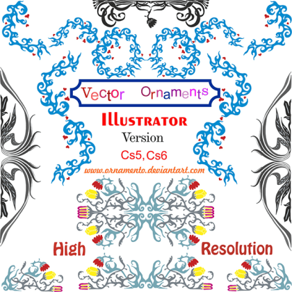 Free Vector Ornaments Corel Draw