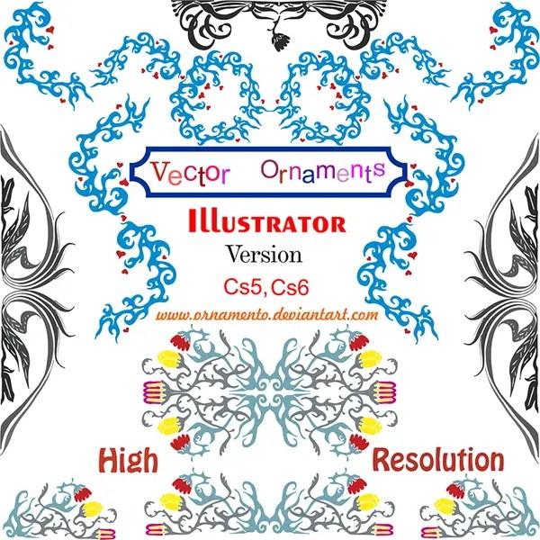 Free Vector Ornaments Corel Draw