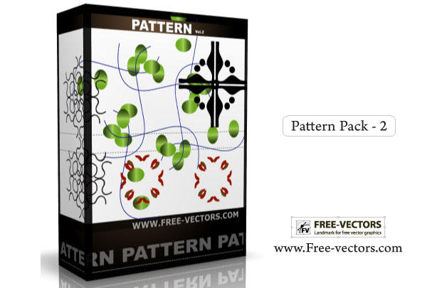 Pattern Background Free Vector Pack-2