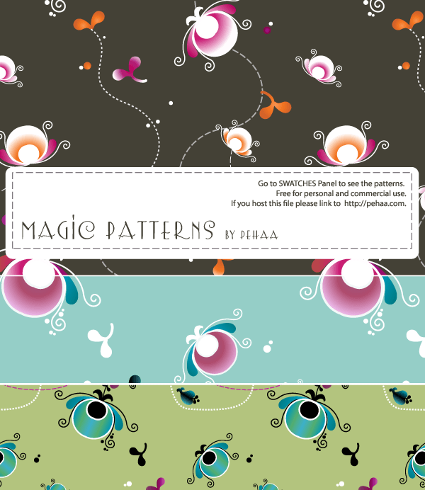 Magic Patterns – Free Resources for Photoshop and Illustrator