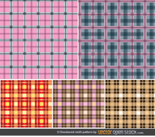 Free Seamless Checkered Pattern Vector