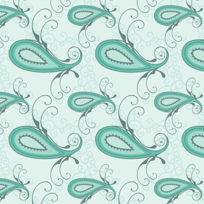 Paisley Seamless Pattern Vector Free