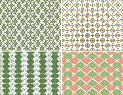 Free Japanese Pattern Background Vector