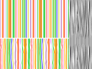 Stripes Seamless Pattern Swatch for Adobe Illustrator