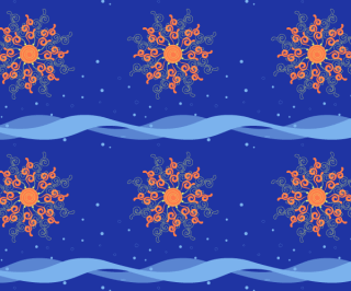Sun and Motion Pattern Vector