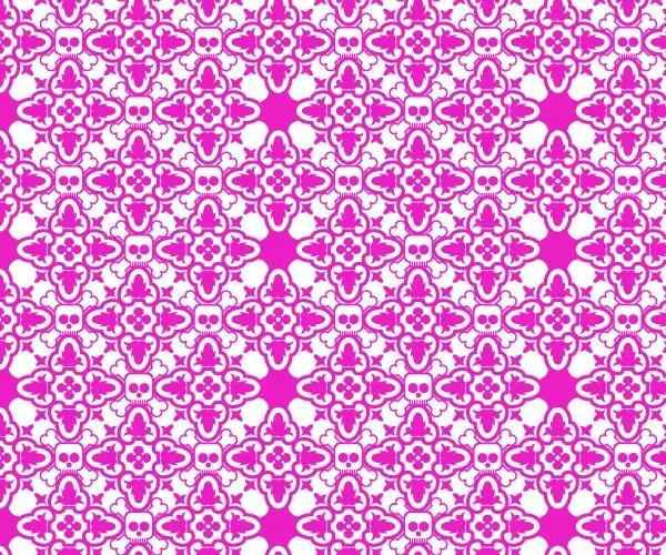 Free Skull Pattern Vector Graphics