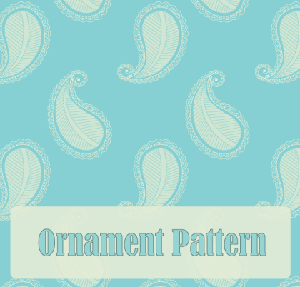 Free Paisley Ornament Pattern Vector