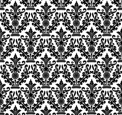 Damask Floral Pattern Free