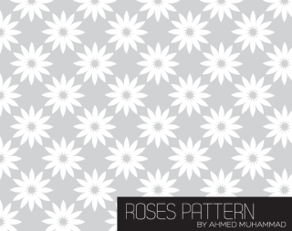 Roses Patterns for Illustrator