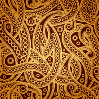 Free Vector Vintage Paisley Pattern Background